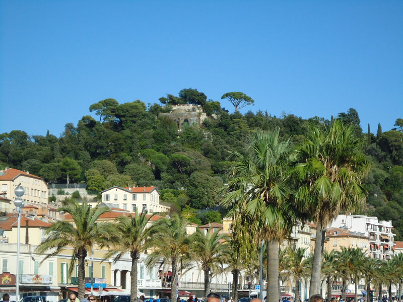 Chateau Hill in Nice